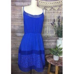 Stitch Fix Pixley Blue Hippie Gypsy Sun Beach Dres